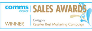 comms dealer sales award