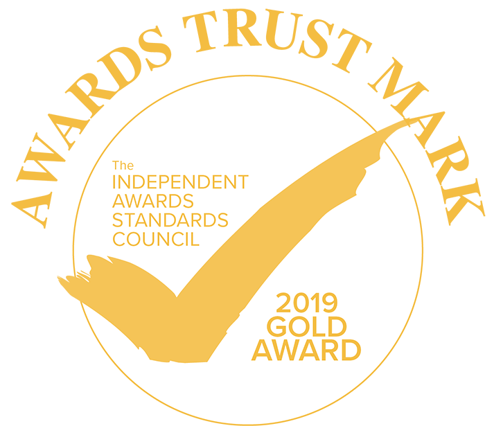 awards trust mark gold