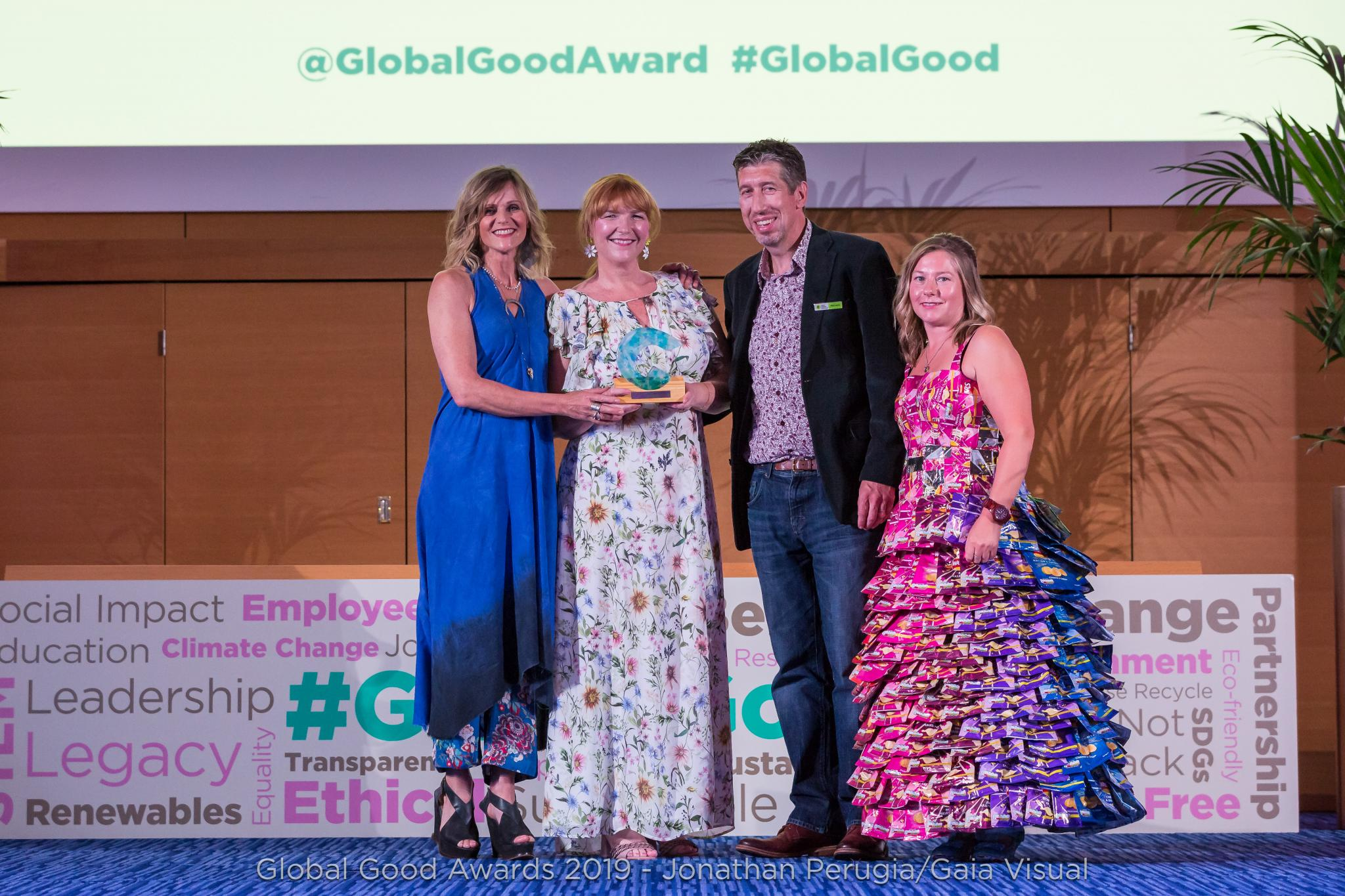 global good awards dress