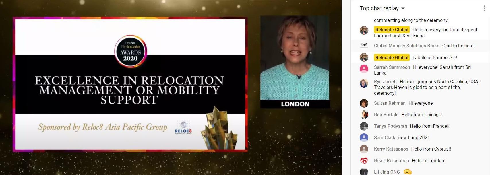 relocate virtual awards