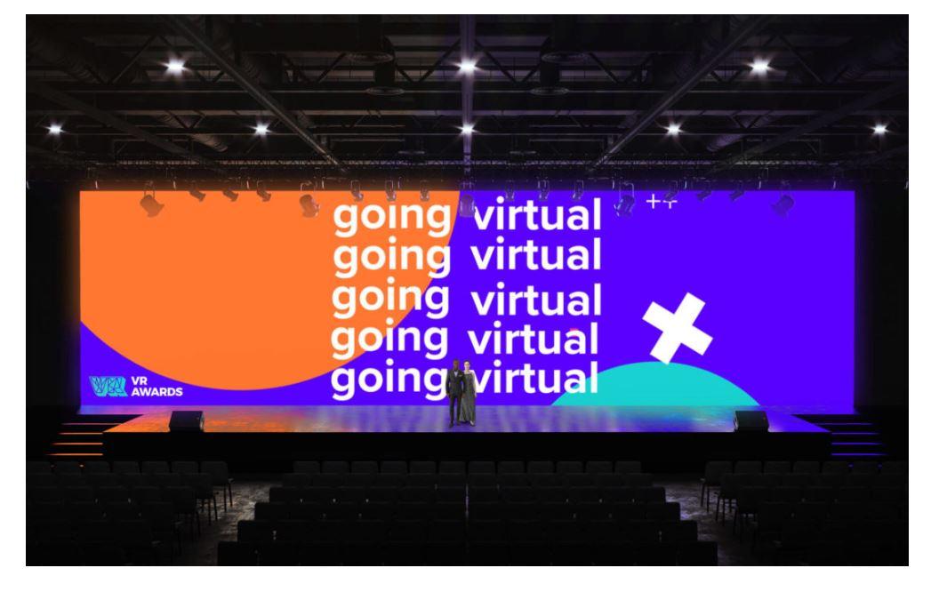 VR online award ceremonies